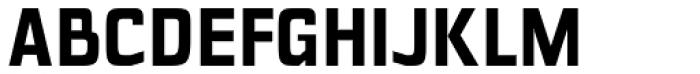 Polyflec Bold Font UPPERCASE