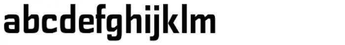 Polyflec Bold Font LOWERCASE