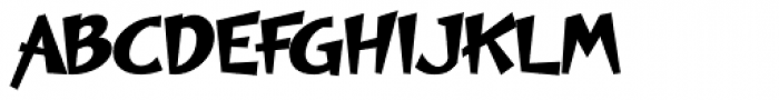 Polyma Font UPPERCASE