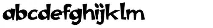 Polyma Font LOWERCASE