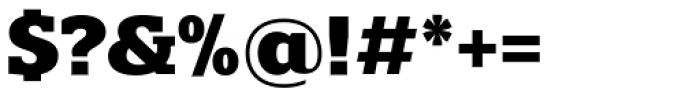 Polyphonic Bold Font OTHER CHARS