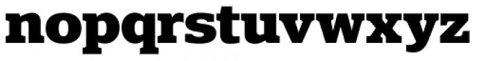Polyphonic Bold Font LOWERCASE