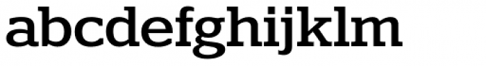 Polyphonic Medium Font LOWERCASE