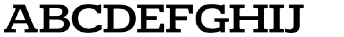 Polyphonic Wide Medium Font UPPERCASE