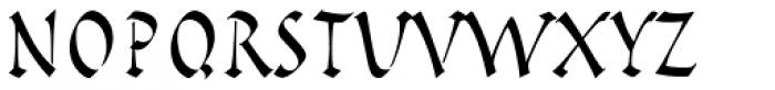 Pompeijana LT Std Roman Font UPPERCASE