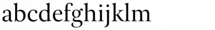 Pona Display Regular Font LOWERCASE