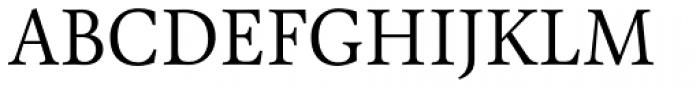 Pona Light Font UPPERCASE