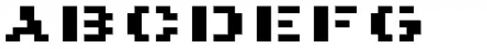 Pony Bold Font LOWERCASE