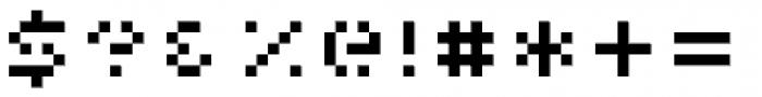 Pony Regular Font OTHER CHARS