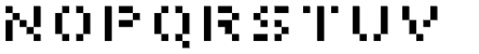 Pony Regular Font LOWERCASE