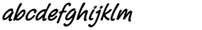 Pony Tale Pro Bold Italic Font LOWERCASE