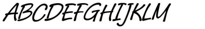 Pony Tale Pro Italic Font UPPERCASE