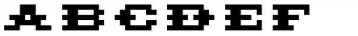 Pony Wood Bold Font LOWERCASE