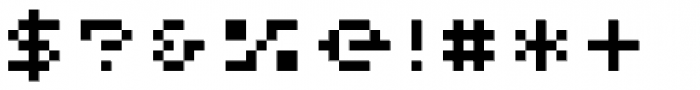 Pony Wood Regular Font OTHER CHARS