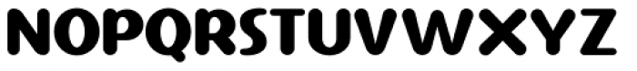 Ponytail Font UPPERCASE