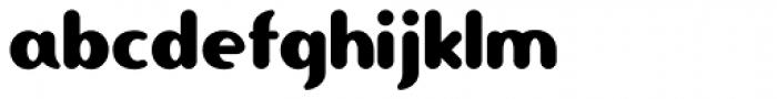 Ponytail Font LOWERCASE