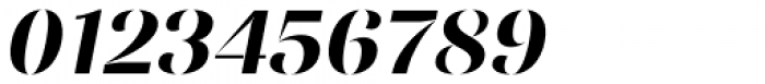Ponzu Bold Italic Font OTHER CHARS
