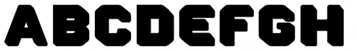 Pool Hot Ice Font LOWERCASE