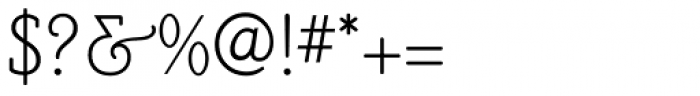 Poor Richard RR Monoline Font OTHER CHARS