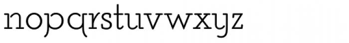 Poor Richard RR Monoline Font LOWERCASE
