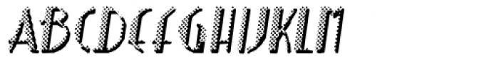 Poorsport Oblique Font UPPERCASE
