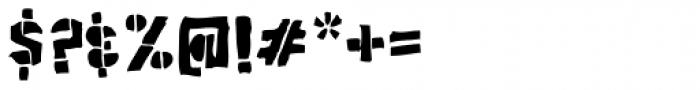 Poozer Font OTHER CHARS