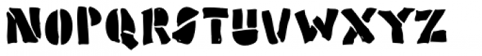 Poozer Font LOWERCASE