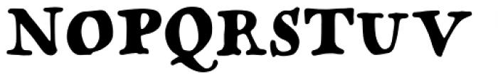 Popless Serif Font UPPERCASE