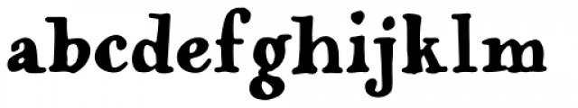 Popless Serif Font LOWERCASE
