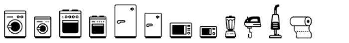 Poppi Household One Font LOWERCASE