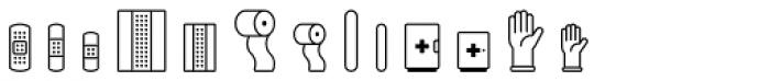 Poppi Medical One Font LOWERCASE