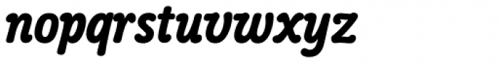 Poppl College Two BQ Bold Font LOWERCASE