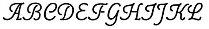 Poppl College Two BQ Regular Font UPPERCASE