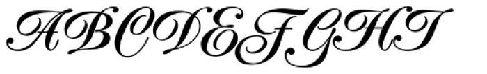 Poppl Exquisit BQ Medium Font UPPERCASE