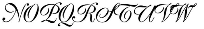 Poppl Exquisit BQ Regular Font UPPERCASE