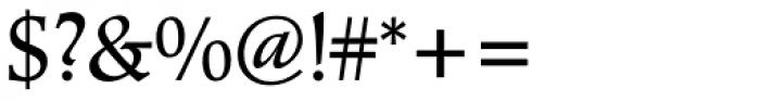 Poppl-Pontifex BQ Regular Font OTHER CHARS