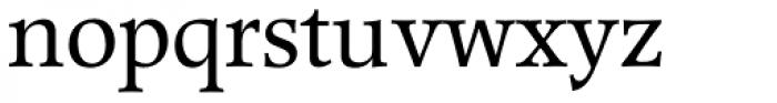 Poppl-Pontifex BQ Regular Font LOWERCASE