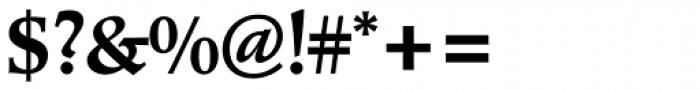 Poppl Pontifex Pro Medium Font OTHER CHARS