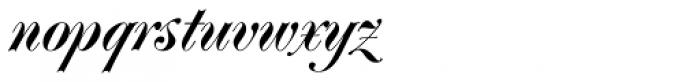 Poppl-Residenz BQ Regular Font LOWERCASE