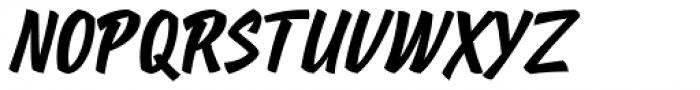 Poppy JT Bold Font UPPERCASE