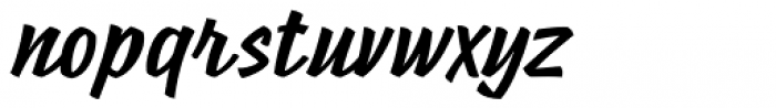 Poppy JT Bold Font LOWERCASE