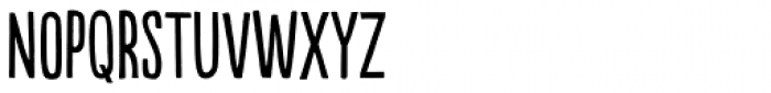 Populaire Regular Font UPPERCASE