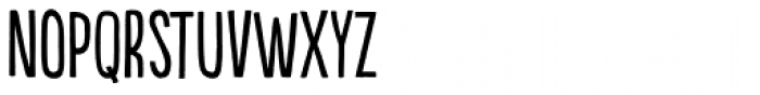 Populaire Regular Font LOWERCASE