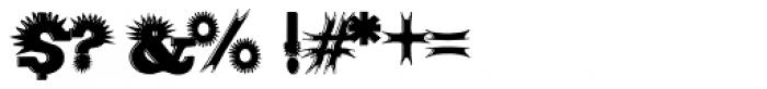 Porcupine Font OTHER CHARS