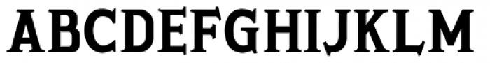 Porkshop Bold Font UPPERCASE