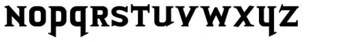 Porkshop Bold Font LOWERCASE