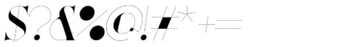 Port Vintage Italic Font OTHER CHARS