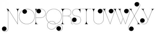 Port Vintage Medium Decorated Font UPPERCASE