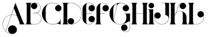 Port Vintage Medium Decorated Font LOWERCASE