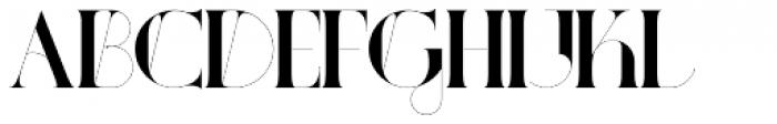 Port Vintage Regular Font LOWERCASE